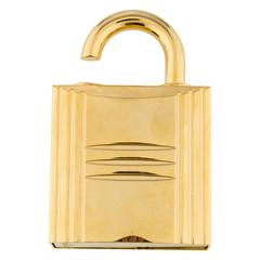 Hermes Cadena Lock Men's Women's Travel Storage Scent Atomizer In Box