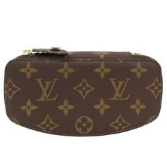 Louis Vuitton Monogram Canvas Small Articles Men's Zip Pouch Travel Storage Bag