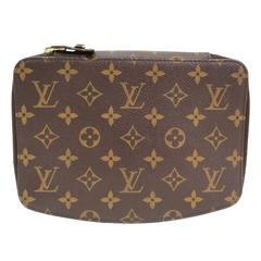 Louis Vuitton Monogram Men's Storage Jewelry Carryall Vanity Travel Bag Case