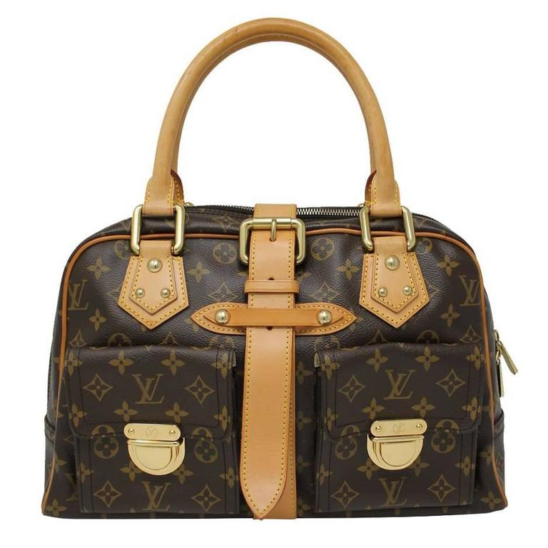 Louis Vuitton Manhattan GM Monogram Canvas Handbag