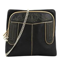Chanel Paris-Salzburg Chain Backpack Embroidered Iridescent Calfskin Medium