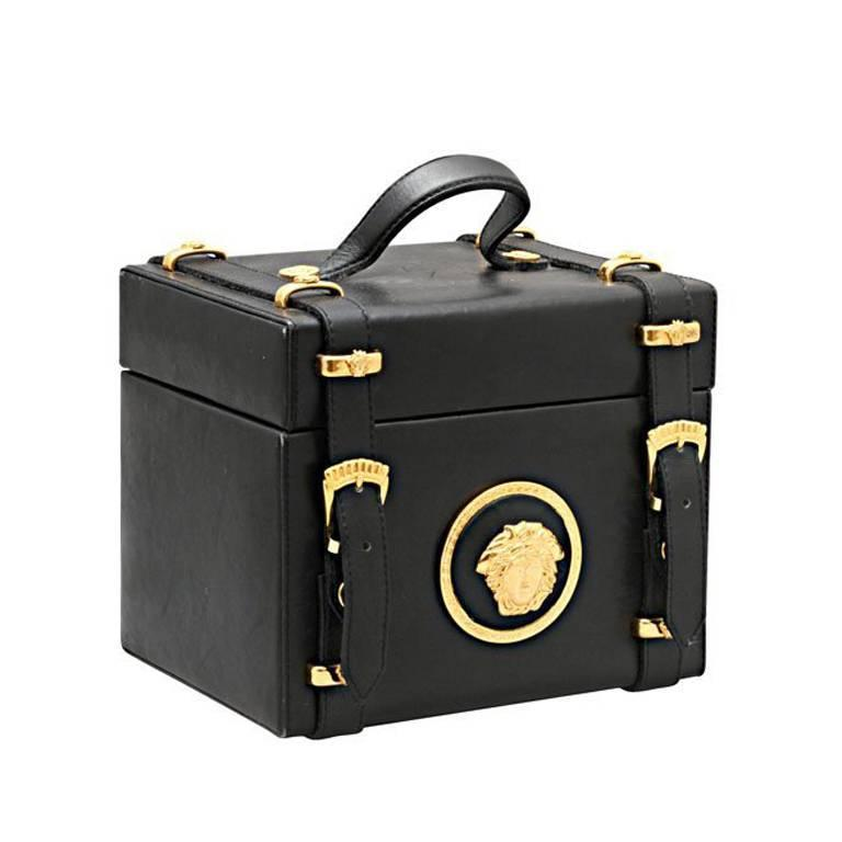 Gianni Versace Couture Medusa Vanity bag