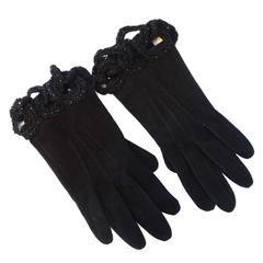 Rare Yukio Kobayashi Matsuda Leather Gloves