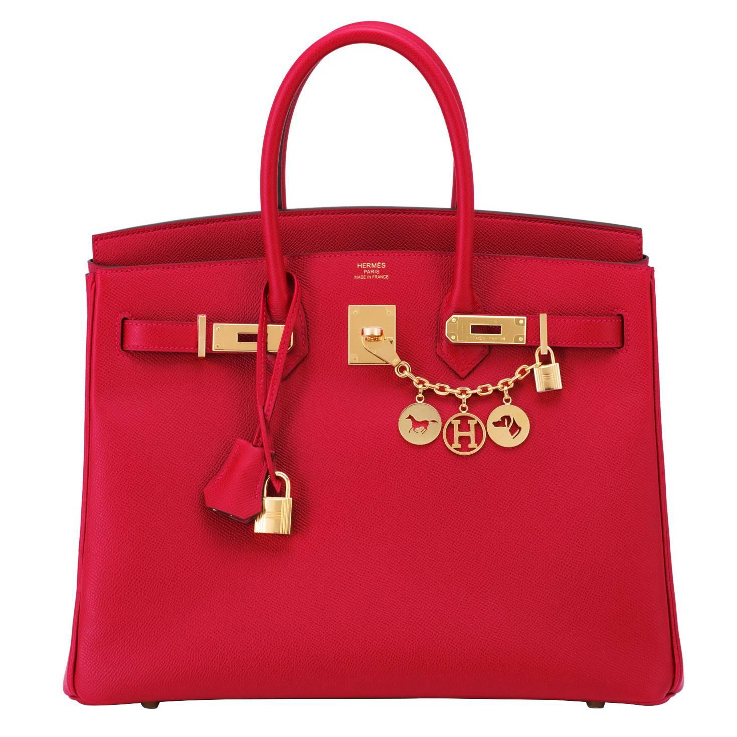 fb238fd01dc Hermes Epsom Handbags - 268 For Sale on 1stdibs