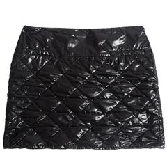 Chanel quilted nylon mini skirt, circa 2006
