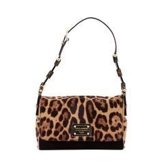Dolce & Gabbana Miss Dalia Bag Pony Hair with Suede Medium