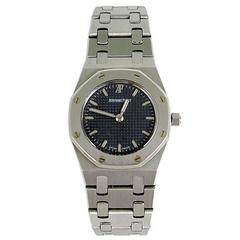 Audemars Piguet Ladies Royal Oak Stainless Steel Quartz Wristwatch