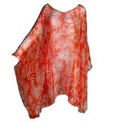 Stunning Christian Dior Belted Silk Tunic Dress
