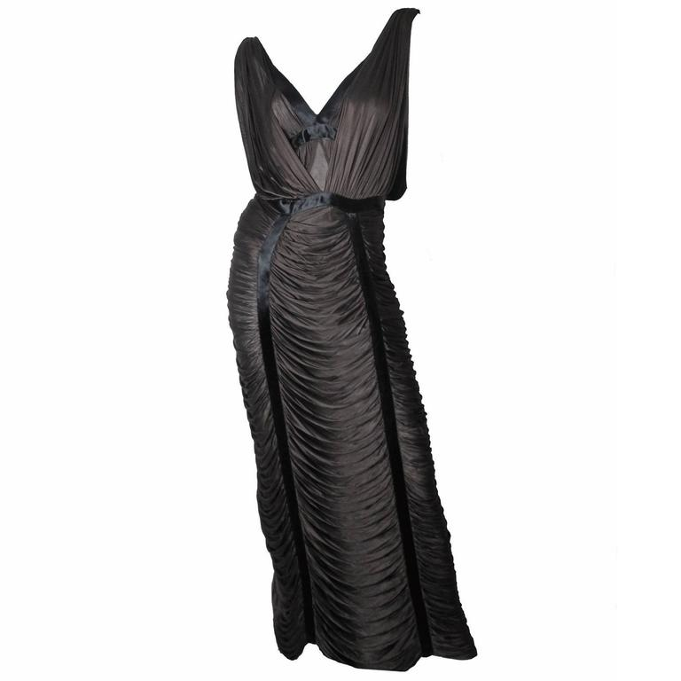 Yves Saint Laurent by Tom Ford ribbon dress - sale For Sale