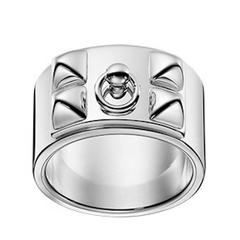 Hermes Collier de Chien Ring Sterling Silver