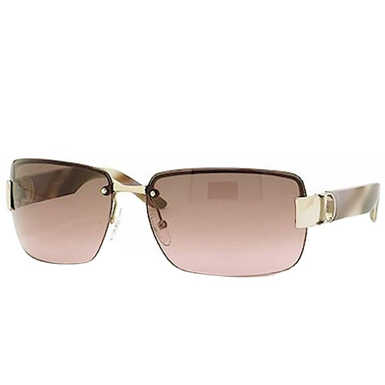 Christian Dior Brown I Love Dior 2 Sunglasses rt. $465 For Sale