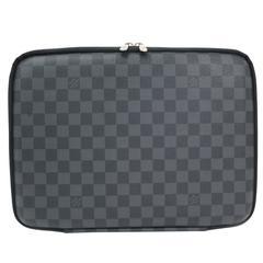 Louis Vuitton Monogram Canvas Tech Laptop Men's Carryall Travel Bag Case