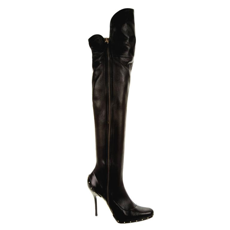 Iconic Gucci by Tom Ford Fall 2003 OTK Boots