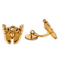 Yves Saint Laurent Vintage Gold Men's Cufflinks II
