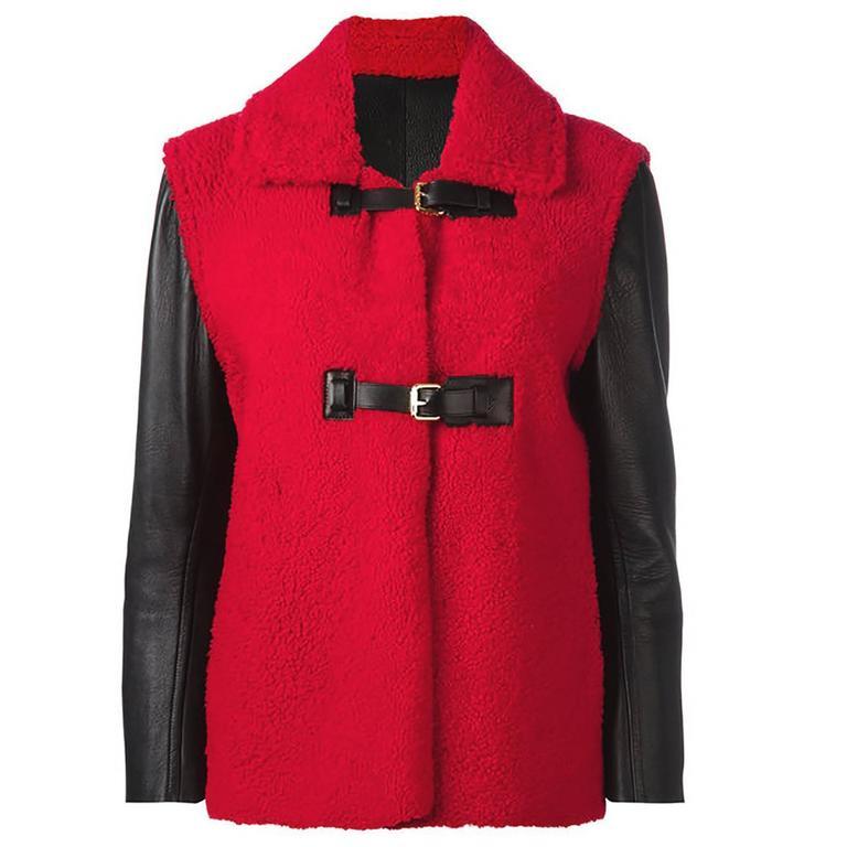Louis Vuitton Shearling Coat