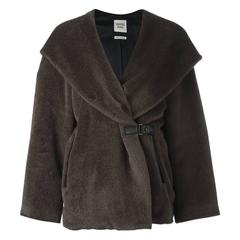 Hermes Hooded Fur Coat