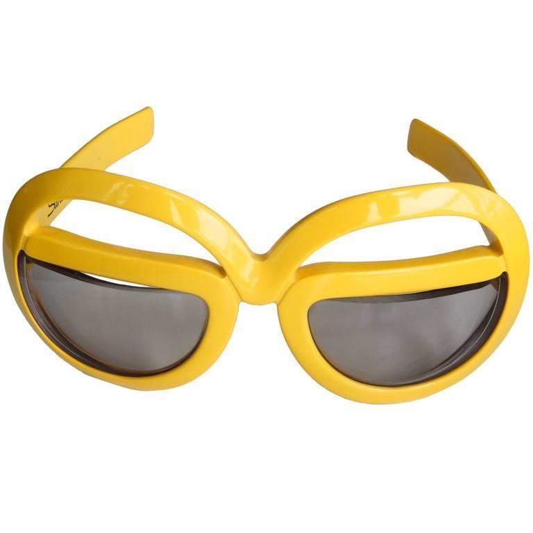 1970s Futuristic Sunglasses by Silhouette For Sale