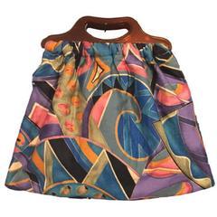1970s Original Dorothy Designs Colourful Vintage Large Bag Handbag Tote