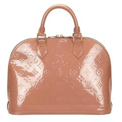 Louis Vuitton Beige Vernis Alma PM