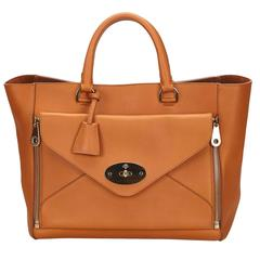Mulberry Brown Leather Willow