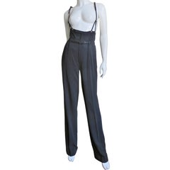 Jean Paul Gaultier Suspender Pants