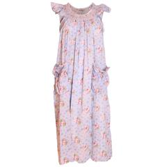 1970s Floral Dress by Fiorucci