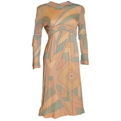 Emilo Pucci Silk Jersey Dress