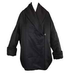 F/W 1986 Dolce & Gabbana Black Opera Coat Jacket