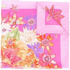 Salvatore Ferragamo Vintage floral print scarf