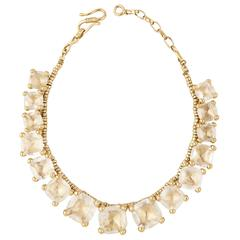 Goossens Rock Crystal Necklace