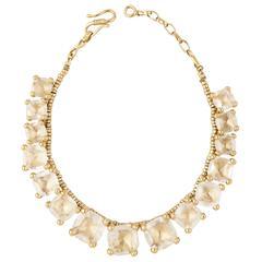 Goossens Rock Crystal Necklace