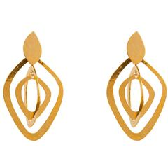 Herve van der Straeten Triple Hoop Earrings