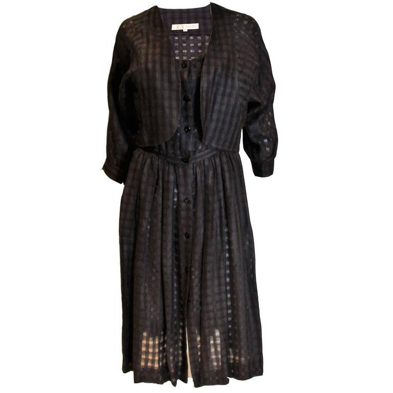 Loewe Black Sundress and Jacket