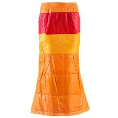 Junya Watanabe Comme des Garçons Nylon Fishtail Skirt