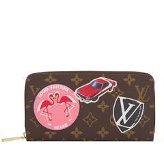 Louis Vuitton Monogram World Tour Zippy Wallet