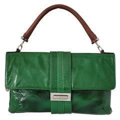 Lanvin  Green Patent Leather Bag