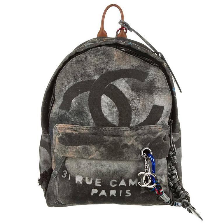 Chanel Graffiti Backpack at 1stdibs