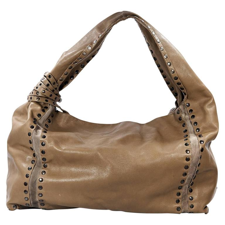 Brown Jimmy Choo Large Saba Shoulder Bag For Sale at 1stdibs f292c2b097