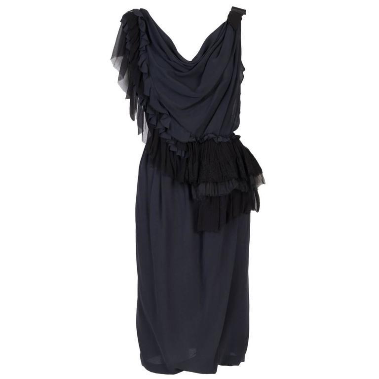 Nina Ricci Sleevless Cocktail Dress