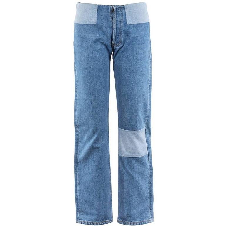 Maison Martin Margiela Artisanal Reworked Jeans