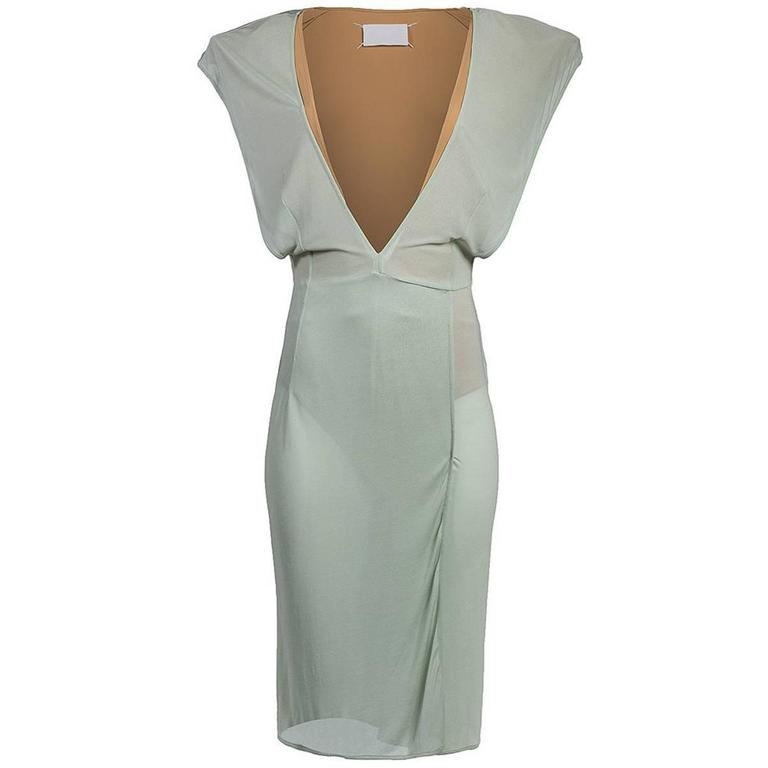 Maison Martin Margiela SS 2009 V-Neck Dress