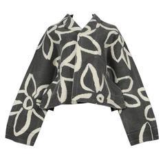 Comme des Garcons Floral Flat Collection Jacket 2012