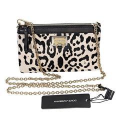 Dolce & Gabbana Ponyhair Crossbody Bag