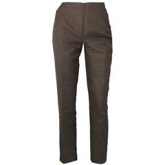 Akris Brown Cropped Pants Sz 8