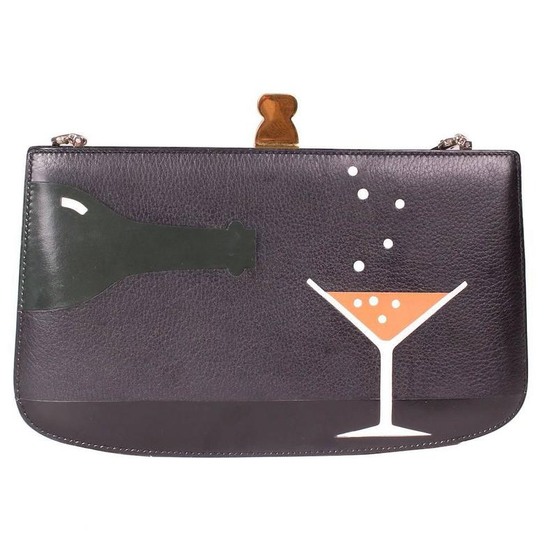 "Hermes Malice ""Cocktail"" Bag, 1988 1"