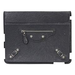 Grey Balenciaga Moto iPad Cover