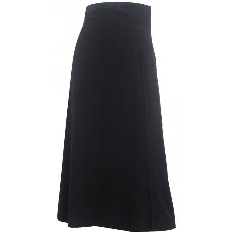 Alexander McQueen 1990's High Waisted Skirt