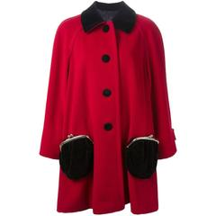 MOSCHINO   Purse pocket coat