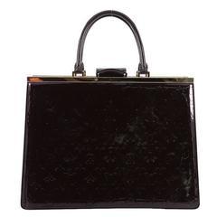 Louis Vuitton Deesse Handbag Monogram Vernis GM