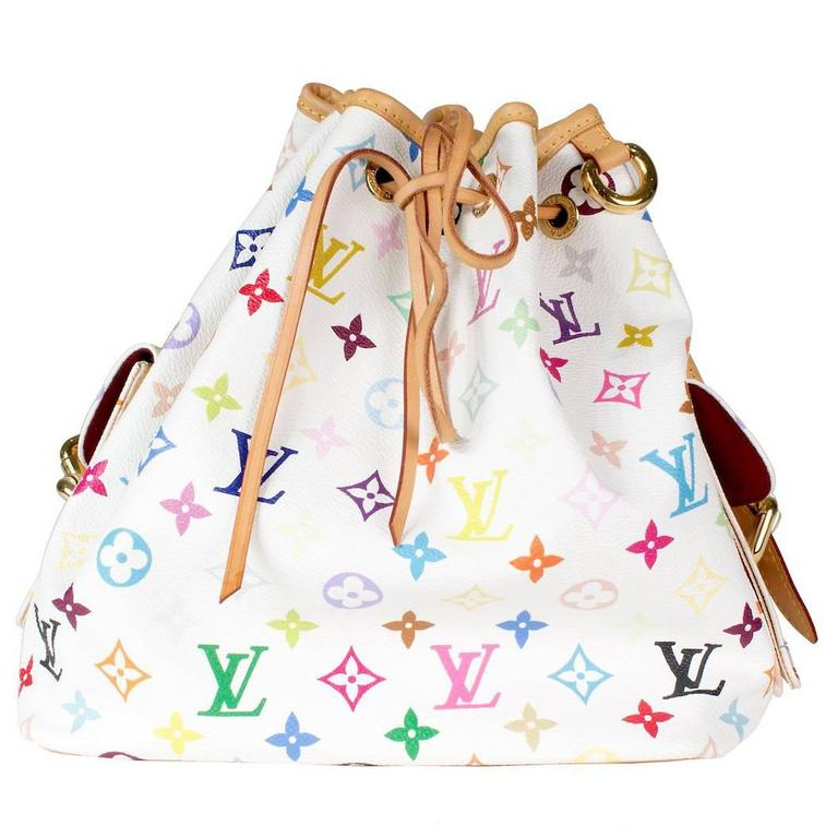 12bc622f56a4 Louis Vuitton Multicolor Monogram Bucket Bag at 1stdibs